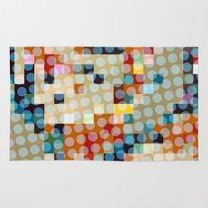 dots meet pixels Rug