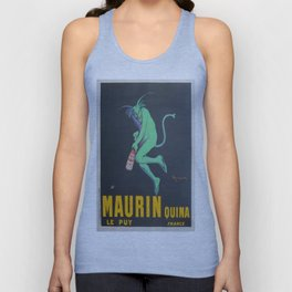 Vintage poster - Maurin Quina Unisex Tank Top