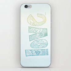 love is all you need. (ombre) iPhone & iPod Skin