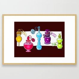 Huevember Potions Framed Art Print