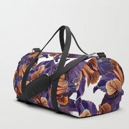 Black Iris Duffle Bag