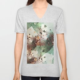 Copper Explosion Unisex V-Neck