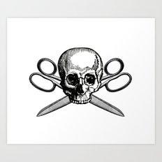 Collage Pirate Art Print