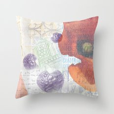 Memories of Italia (cropped) Throw Pillow