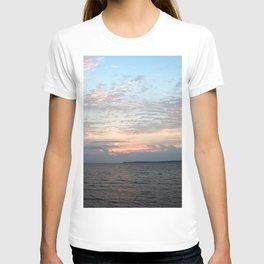 Early Morning Sunrise over Lake Huron T-shirt