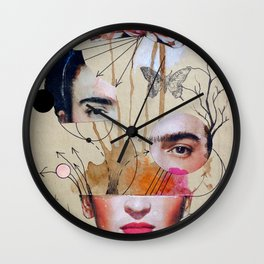 FRIDA FOR BEGINNERS Wall Clock