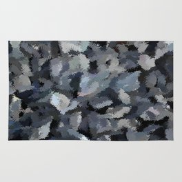 Shades of Gray Tapestry Rug