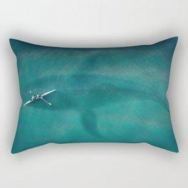 Great Danger Underneath Rectangular Pillow