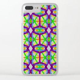 geometron mesh 56920 gmtrx Clear iPhone Case