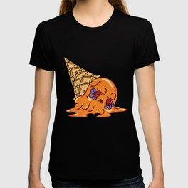Orange Sugar Skull ice cream T-shirt