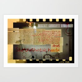 Deborah's Song of Jael (by Jeff Gill) Art Print