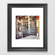 Bodie Ghost Town Framed Art Print