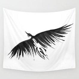 Raven Flight Wall Tapestry