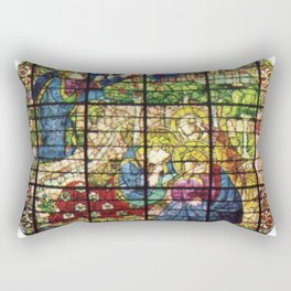 Lorenzo Ghiberti - The Prayer in the Garden Rectangular Pillow