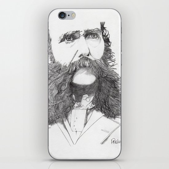 Moustache iPhone & iPod Skin