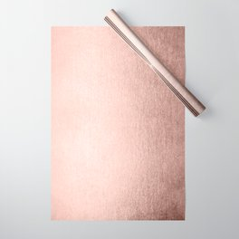 Moon Dust Rose Gold Wrapping Paper