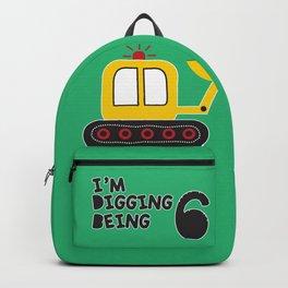 I am digging being 6. Backpack