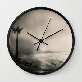 Royal Palms Beach California Wall Clock