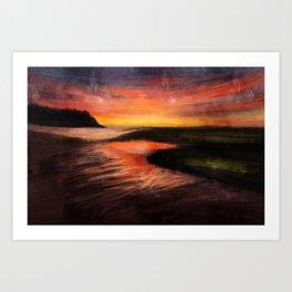landscape series 05 Art Print