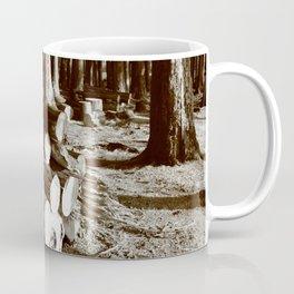 Stacked logs Coffee Mug