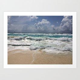 Beach Paradise Art Print