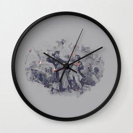 Epic Battle Wall Clock
