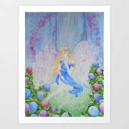 Broken Angel Art Print