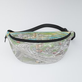 Pittsburgh Aerial Fanny Pack