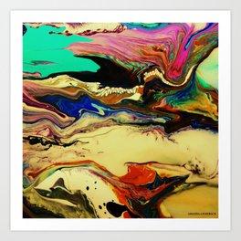 intestine Art Print