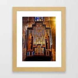 Organ Framed Art Print