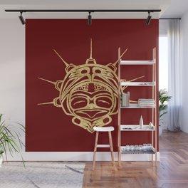 Golden Frog Blood Wall Mural