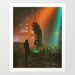 buying drugs from cryptoworm (everyday 10.09.18) Art Print