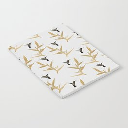 Hummingbird & Flower II Notebook