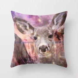 Spirit of the Deer - Shamanic Power Animal Throw Pillow