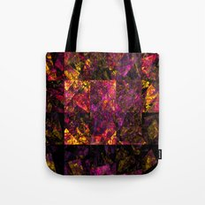 Stained windows Tote Bag