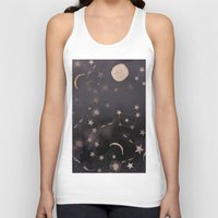 constellations Tank Tops featuring Constellations  by dreamshade