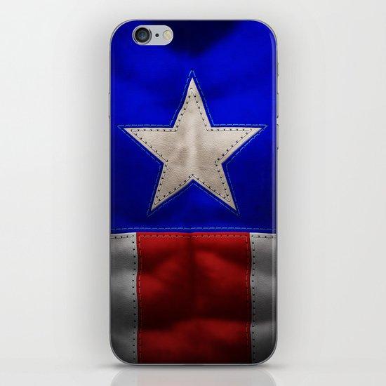 captain america iPhone & iPod Skin
