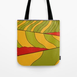 Whimsical meadow Tote Bag