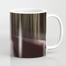 Lady Bird Johnson Abstract Coffee Mug
