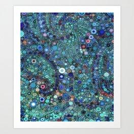 :: Ocean Fabric :: Art Print