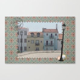 Portugal Collage Canvas Print