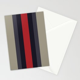 High Fashion Designer Style Stripes Stationery Cards