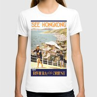 hong kong T-shirts featuring HONG KONG by Kathead Tarot/David Rivera
