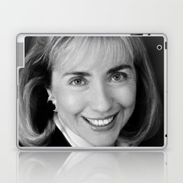 Black & white Portrait of HRC (1992) Laptop & iPad Skin