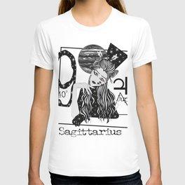 Sagittarius - Zodiac Sign T-shirt