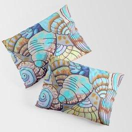 Belizean Shells Pillow Sham