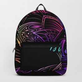 Be Brave - Be Free - Be Happy Backpack