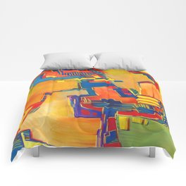 Hovering Comforters