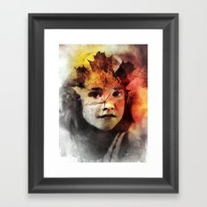 Leafe Framed Art Print