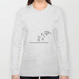 basketball usa basketball player Long Sleeve T-shirt